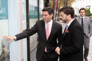 Nextcolour Director James Morse & Secretary of State for Wales – Stephen Crabb